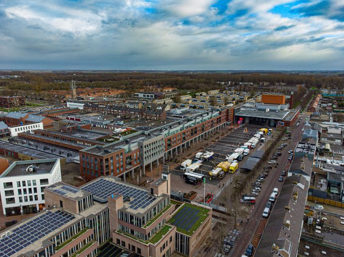 Het centrum van Dronten.