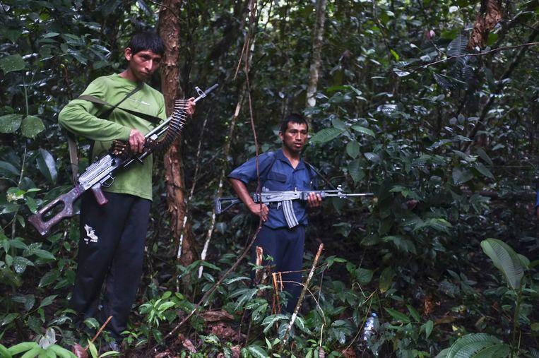 Leden van Lichtend Pad in 2012. Beeld Reuters