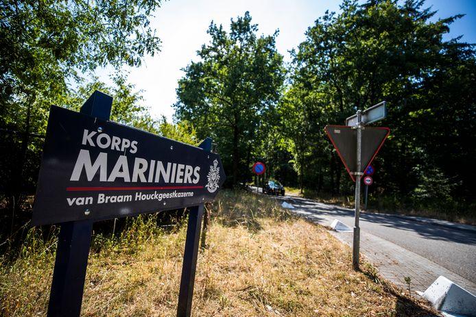 De huidige marinierskazerne staat in Doorn.