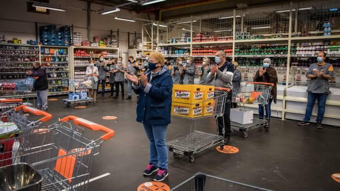 Geen vakbondsactie, maar minuut applaus in Colruyt Sint-Truiden na zoveelste geval van 'corona-agressie'