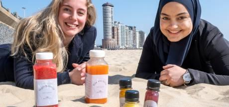 Veronique en Boutina maken hun eigen 'sapjes': detoxen is goed voor lijf en leden