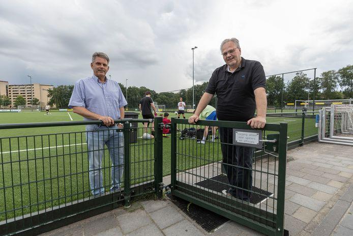 Wichard Wakelkamp (links) en John Brugel van Nieuw Woensel.