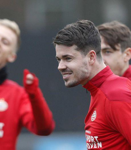 Marco van Ginkel en PSV denken elkaar nog genoeg moois te kunnen geven