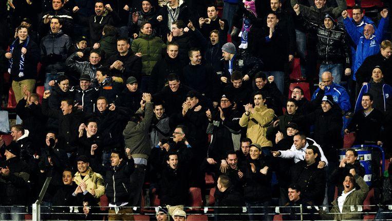 Supporters van FC Den Bosch. (Archiefbeeld) Beeld anp