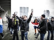 Filip Dewinter houdt toespraak bij protestmars Pegida