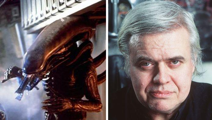 De creatie Alien uit de gelijknamige film van 1979 en Hans Giger