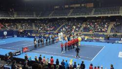 Gillé en Vliegen niet opgewassen tegen Bryan-broers - team Davis Cup gehuldigd