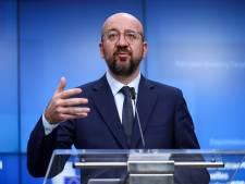 """Charles Michel """"soutient les efforts grecs pour protéger les frontières européennes"""""""