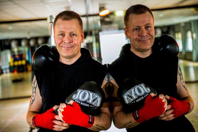 Kickbokstherapeut Mathijs Schaap.