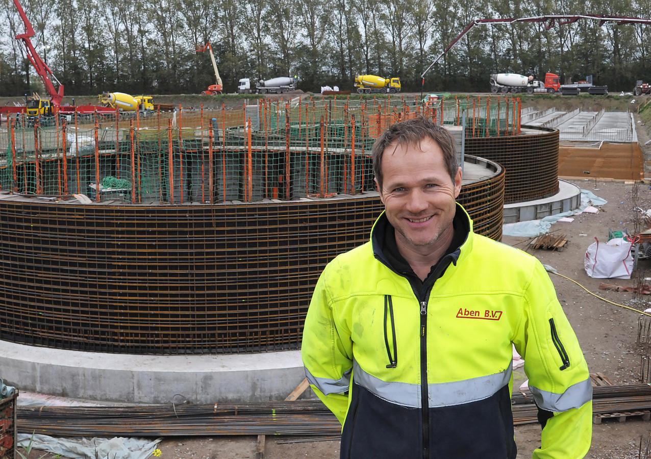 Jan Aben van biovergasser Aben Green Energy uit het Brabantse Wanroij.