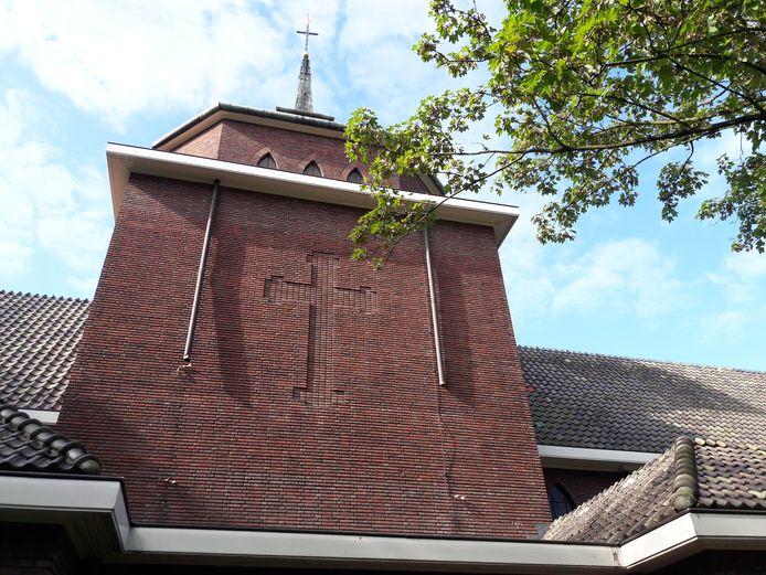 De kapel is één van de gebouwen die blijft staan en waarvoor een functie wordt gezocht.