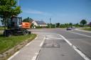 Het kruispunt met de Gaverstraat wordt heringericht.