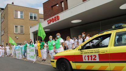 Personeel Sint-Jozefskliniek voert actie aan spoedafdeling