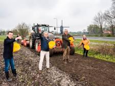 15 kilometer korenbloemen en andere zomerbloeiers in Enschede