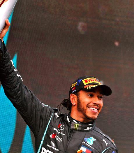 """Lewis Hamilton confie que le mouvement """"Black Lives Matter"""" l'a aidé pour son 7e titre"""