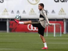 De retour à l'entraînement, Eden Hazard entre dans la dernière phase de sa revalidation
