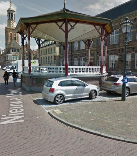 Vervangende parkeerplekken voor vergunninghouders in de Kamper binnenstad