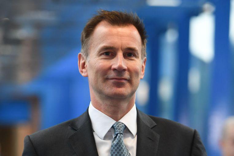 De Britse minister van Buitenlandse Zaken Jeremy Hunt. Beeld AFP