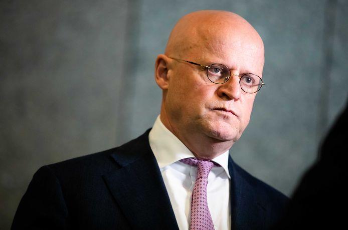 Minister Ferdinand Grapperhaus van Justitie en Veiligheid.