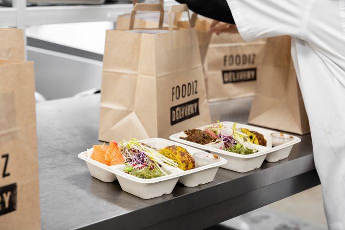 """Foodiz se base sur le concept de """"Dark kitchen""""."""