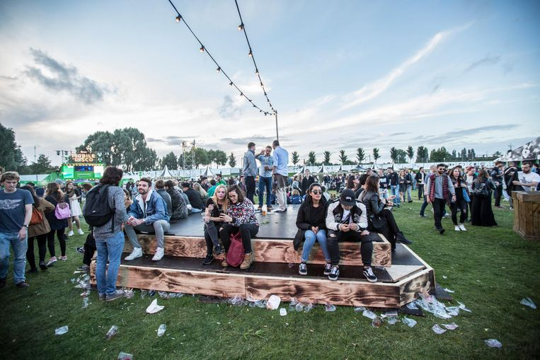 Pitch Festival 2016, toen nog in het Westerpark Beeld Eva Plevier