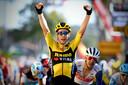De 'hofleverancier' was uiteraard Wout van Aert, met de Strade Bianche, Milaan-Sanremo, een rit in de Dauphiné en twee etappes in de Tour was hij goed voor vijf stuks.