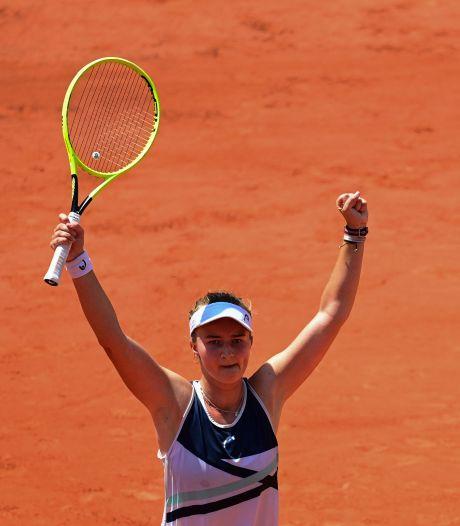 Fin de l'aventure pour Coco Gauff, première demi-finale pour Barbora Krejcikova