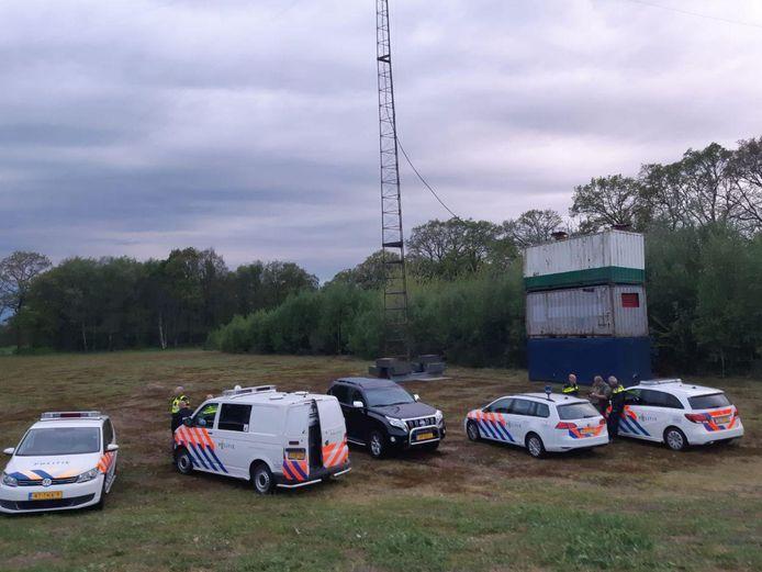 In april werd in Neede een illegale zender uit de lucht gehaald.