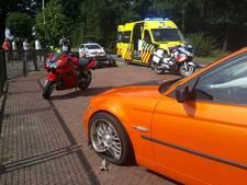 Motorrijder gewond bij botsing in Overdinkel