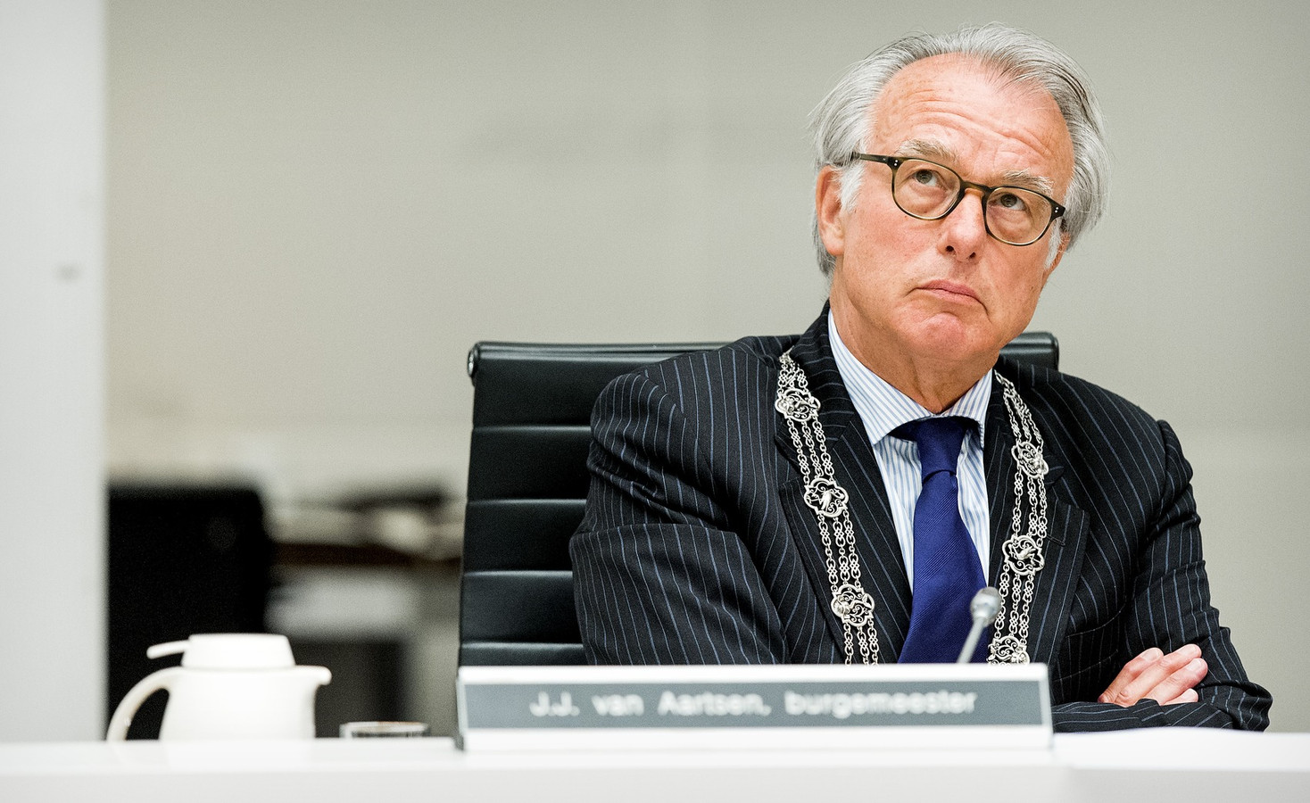 Jozias van Aartsen, burgemeester van Den Haag.