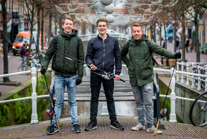 Streetfishing met Daniel, Wietse en Tjitte
