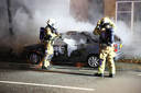 Auto uitgebrand in Roosendaal.