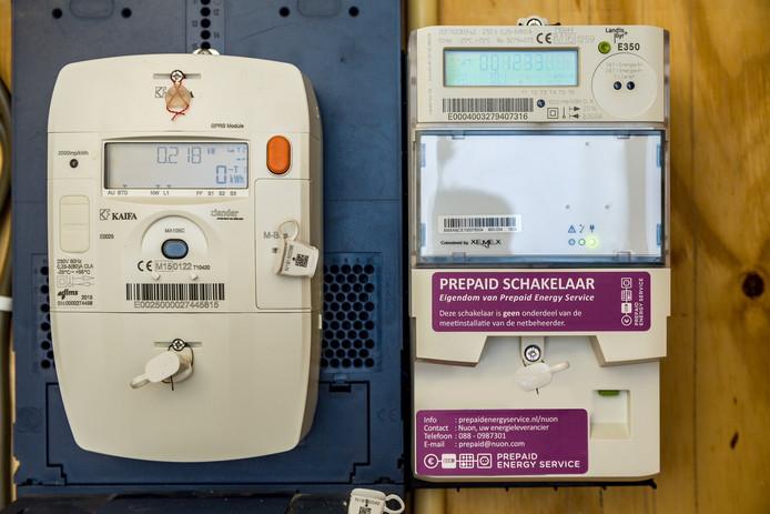 Wanbetalers die aan de proef meedoen, krijgen een  apart apparaatje van hun netbeheerder in de meterkast.