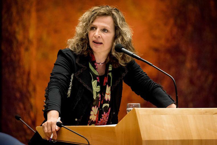 VVD-minister Edith Schippers wil volgend jaar niet nog een keer op de VVD-lijst. Beeld anp