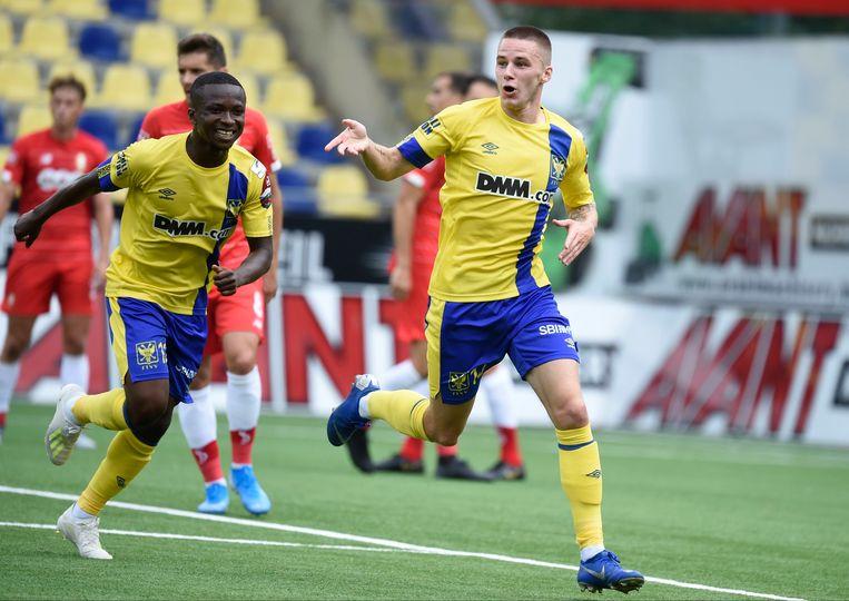 De Bruyn scoorde begin vorig seizoen tegen Standard