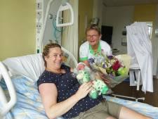 Doortje is de duizendste baby die dit jaar in het Groene Hart Ziekenhuis het levenslicht ziet