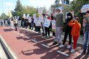Demonstranten in Cyprus protesteren tegen de songfestivalinzending van hun land. El Diablo zou aanzetten tot het aanbidden van Satan.