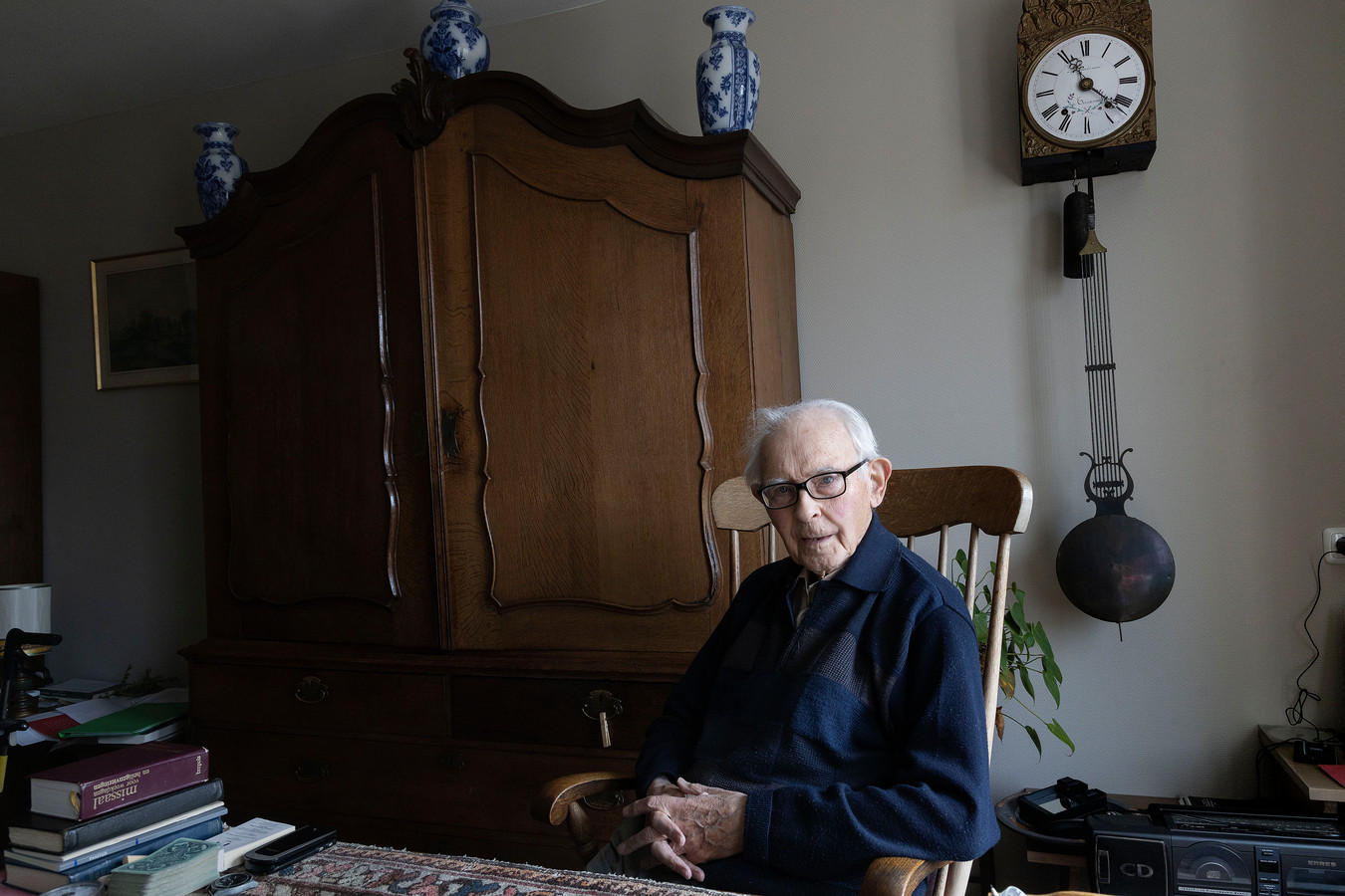Zondag om 09.30 uur wordt er voor Jacques Sanders (foto) een mis opgedragen door pastoor Van der Maazen in de kerk van Zesgehuchten. Sanders viert zijn zeventigjarig priesterschap.