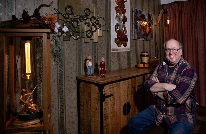 *Peter van de Manakker* houtkunstenaar uit Someren Eind