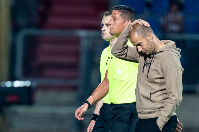 FC Groningen-coach Danny Buijs