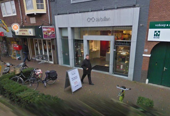 De winkel Iris Brillen op de Laanstraat in Baarn.