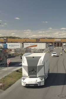 Zelfrijdende vrachtauto op de openbare weg: Zweden heeft de primeur