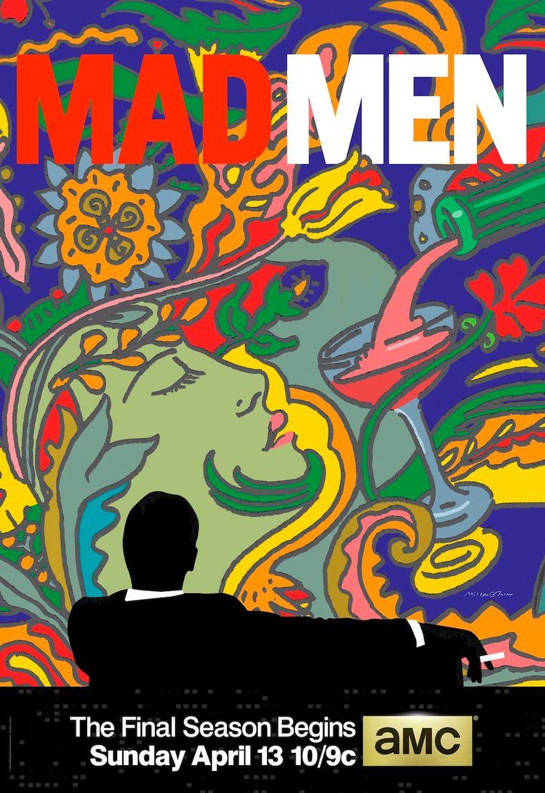 Glaser was niet een pure reclameman - hoewel hij voor de succesvolle serie Mad Men advertenties zou maken.  Beeld