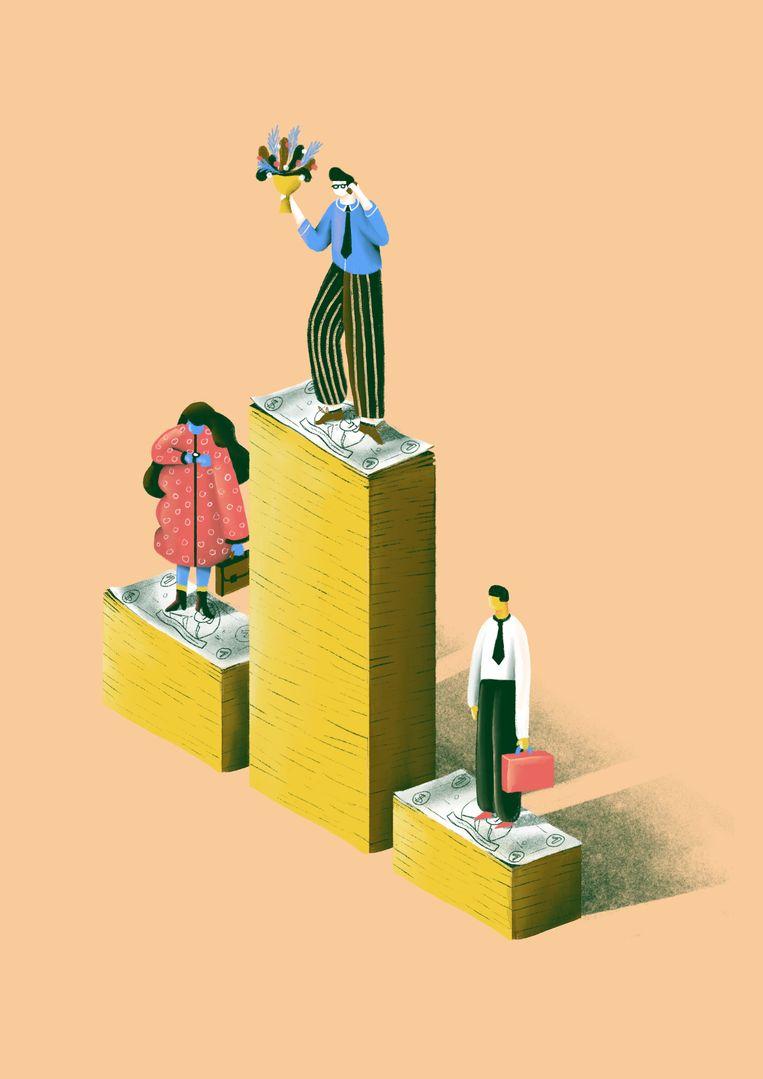 Econoom Koen Schoors: 'Van een echt competitieve markt is hier geen sprake. In hoeverre hebben we hier misschien te maken met een kaste die zichzelf beschermt?' Beeld Elise Vandeplancke