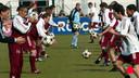 Ronald Koeman als trainer van Ajax in 2003.