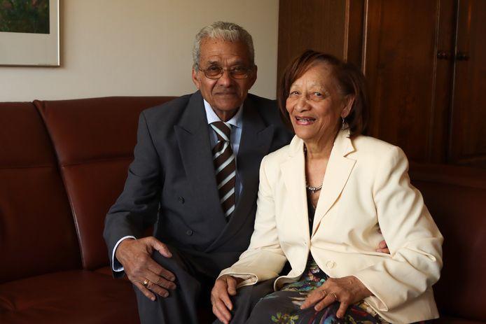 Richmond en Selma Sweeb uit Den Bosch zijn zestig jaar getrouwd.