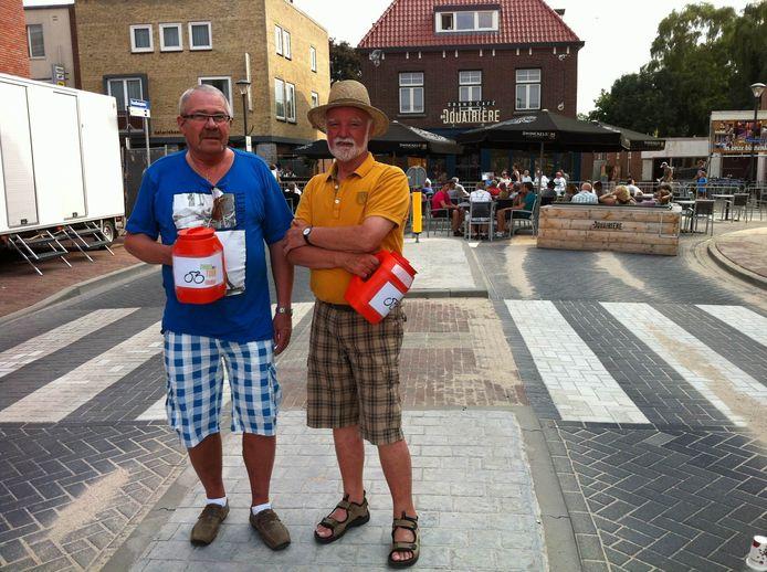 Bezoekers van Daags na de Tour kunnen vrijwillig een bijdrage geven aan het wielerevenement.