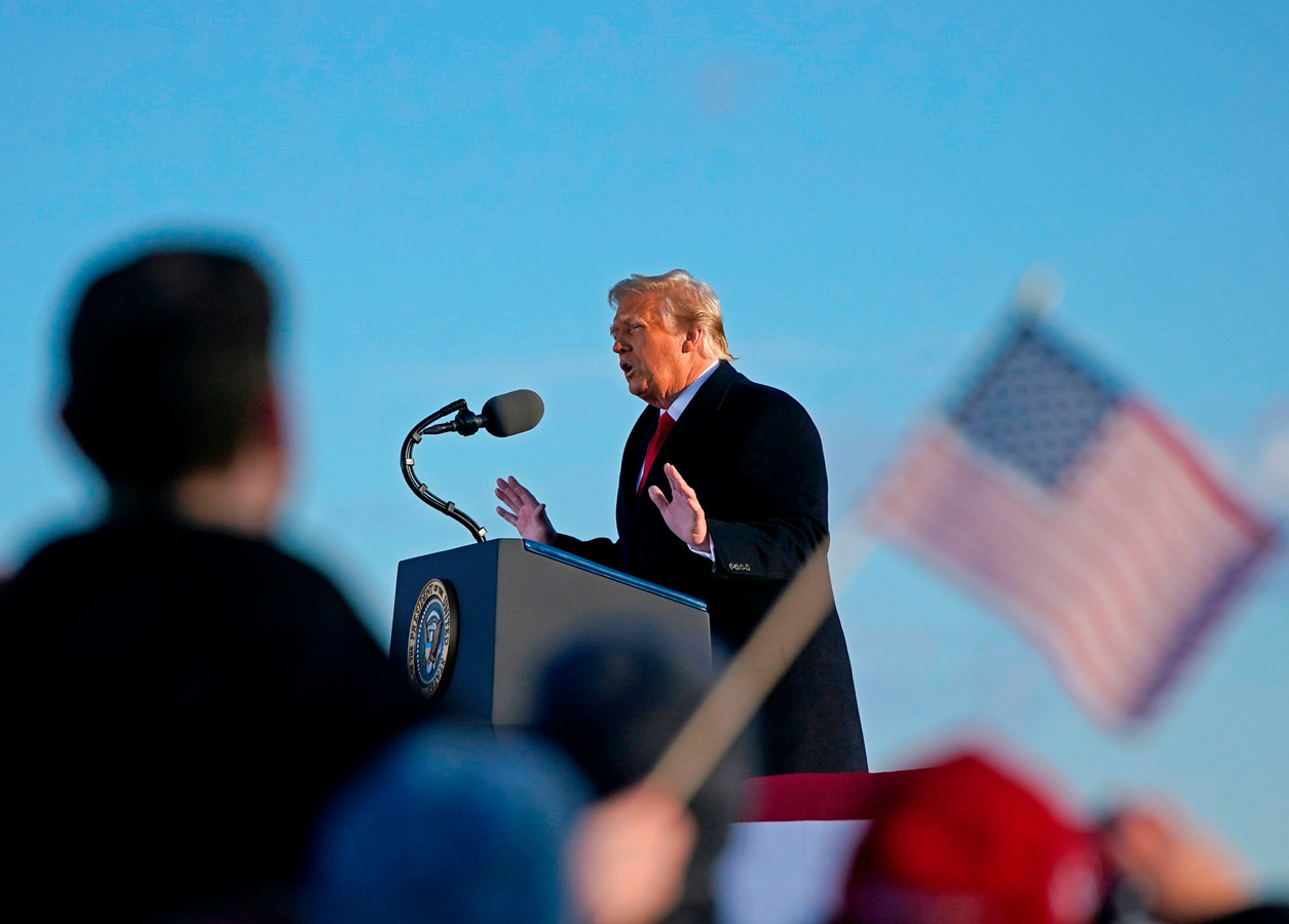Donald Trump lors de son allocution ce mercredi