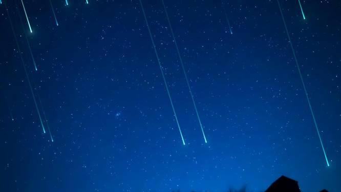 Daar zijn de Perseïden: tot 85 vallende sterren per uur