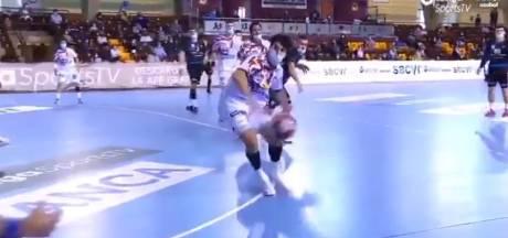 """Des handballeurs espagnols obligés de porter le masque pendant un match: """"Absurde"""""""